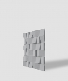 VT - PB15 (S96 dark gray) COCO - 3D architectural concrete decor panel