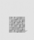 VT - PB15 (S95 jasno szary - gołąbkowy) COCO - panel dekor 3D beton architektoniczny