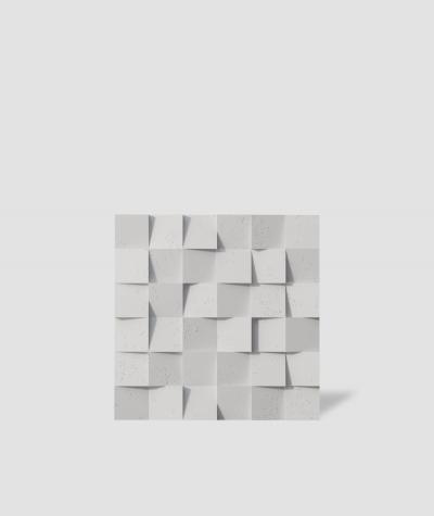 VT - PB15 (B1 siwo biały) COCO - panel dekor 3D beton architektoniczny