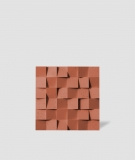 VT - PB15 (c4 ceglasty) COCO - panel dekor 3D beton architektoniczny