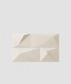 PB07 (KS ivory) CRYSTAL - 3D architectural concrete decor panel