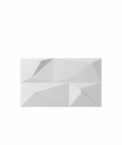 VT - PB07 (S50 light gray - mouse) CRYSTAL - 3D architectural concrete decor panel