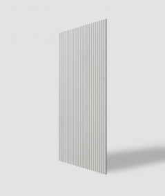 VT - PB37 (B1 gray white) LAMELLA - 3D architectural concrete decor panel