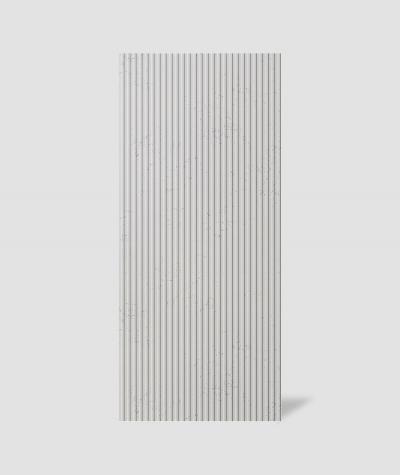 VT - PB37 (B1 siwo biały) LAMEL - Panel dekor 3D beton architektoniczny