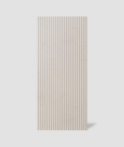 VT - PB37 (KS kość słoniowa) RYFEL - Panel dekor 3D beton architektoniczny
