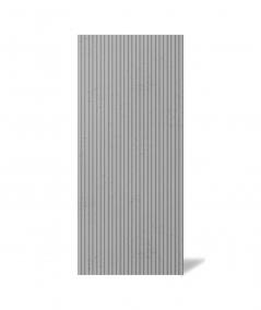 VT - PB37 (S51 ciemny szary - mysi) LAMEL - Panel dekor 3D beton architektoniczny
