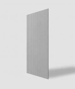 VT - PB37 (S95 light gray - dove) LAMELLA - 3D architectural concrete decor panel