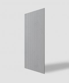 VT - PB37 (S96 dark gray) LAMELLA - 3D architectural concrete decor panel
