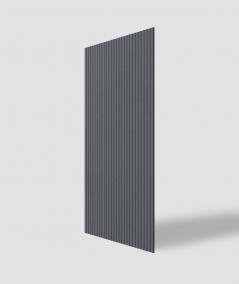 VT - PB37 (B8 antracyt) LAMEL - Panel dekor 3D beton architektoniczny