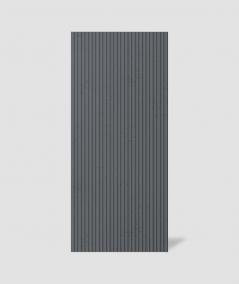 VT - PB37 (B8 anthracite) LAMELLA - 3D architectural concrete decor panel