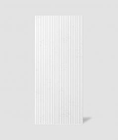VT - PB37 (BS śnieżno biały) LAMEL - Panel dekor 3D beton architektoniczny