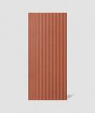 VT - PB37 (C4 ceglasty) LAMEL - Panel dekor 3D beton architektoniczny