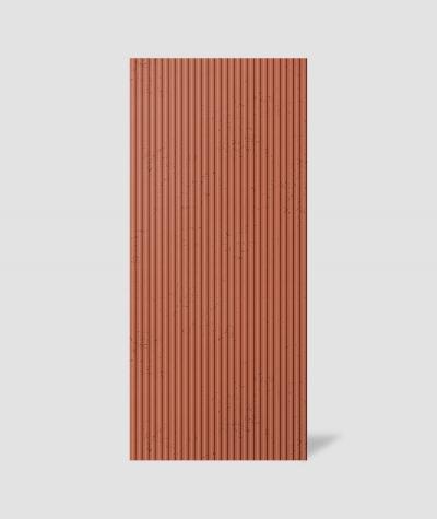 VT - PB37 (C4 ceglasty) RYFEL - Panel dekor 3D beton architektoniczny