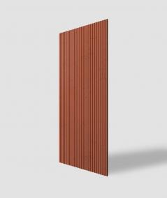 VT - PB37 (c4 brick) LAMELLA - 3D architectural concrete decor panel