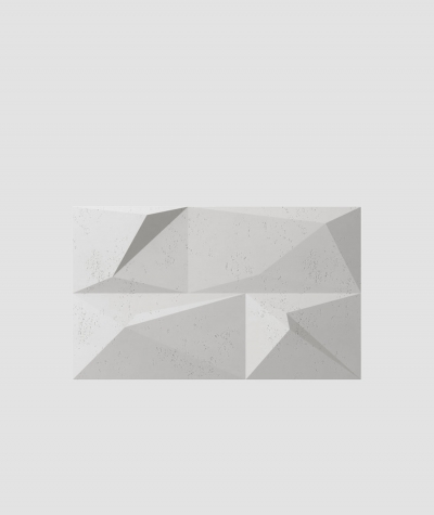 PB07 (S51 dark gray 'mouse') CRYSTAL - 3D architectural concrete decor panel
