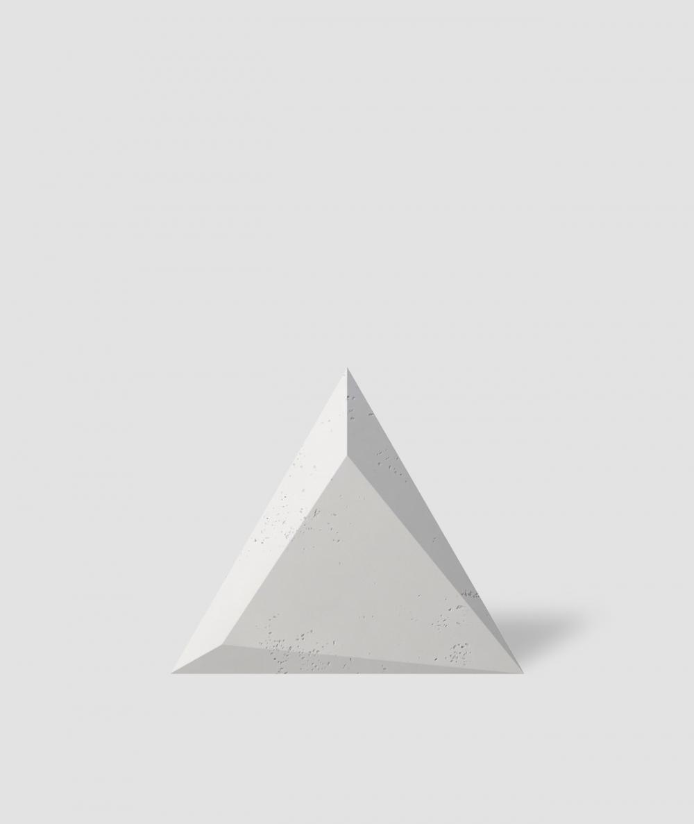 VT - PB36 (B0 white) TRIANGLE - 3D architectural concrete decor panel
