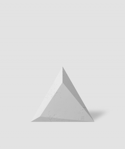 VT - PB36 (S50 light gray - mouse) TRIANGLE - 3D architectural concrete decor panel