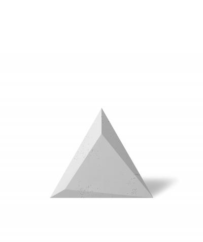 VT - PB36 (S50 jasny szary - mysi) TRIANGLE - Panel dekor 3D beton architektoniczny