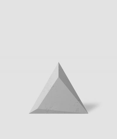 VT - PB36 (S95 jasny szary - gołąbkowy) TRIANGLE - Panel dekor 3D beton architektoniczny