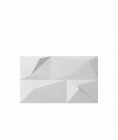VT - PB07 (S95 jasny szary 'gołąbkowy') KRYSZTAŁ - panel dekor 3D beton architektoniczny