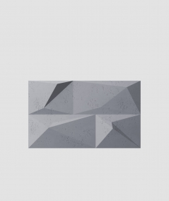 VT - PB07 (B8 antracyt) KRYSZTAŁ - panel dekor 3D beton architektoniczny