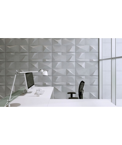 PB07 (B15 black) CRYSTAL - 3D architectural concrete decor panel