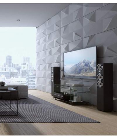 VT - PB07 (BS snow white) CRYSTAL - 3D architectural concrete decor panel