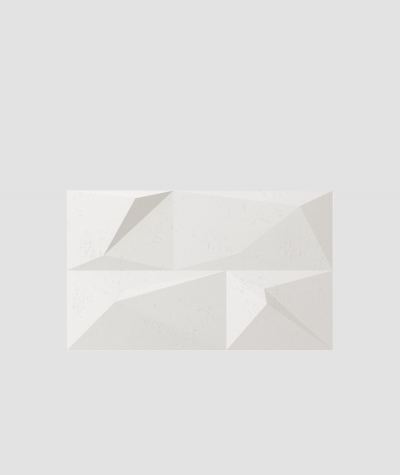 PB07 (BS snow white) CRYSTAL - 3D architectural concrete decor panel