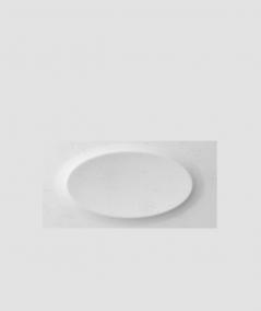 VT - PB08 (S50 light gray - mouse) ELLIPSE - 3D architectural concrete decor panel