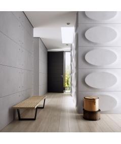 VT - PB08 (S51 ciemny szary 'mysi') ELIPSA - panel dekor 3D beton architektoniczny