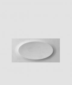 VT - PB08 (S96 dark gray) ELLIPSE - 3D architectural concrete decor panel