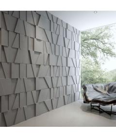 VT - PB09 (B1 gray white) MOSAIC - 3D architectural concrete decor panel