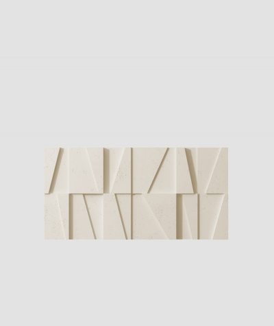 PB09 (KS ivory) MOSAIC - 3D architectural concrete decor panel