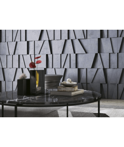 VT - PB09 (S50 jasny szary 'mysi') MOZAIKA - panel dekor 3D beton architektoniczny