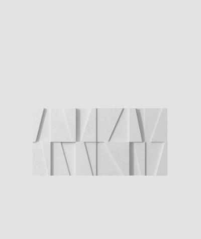 VT - PB09 (S50 light gray - mouse) MOSAIC - 3D architectural concrete decor panel