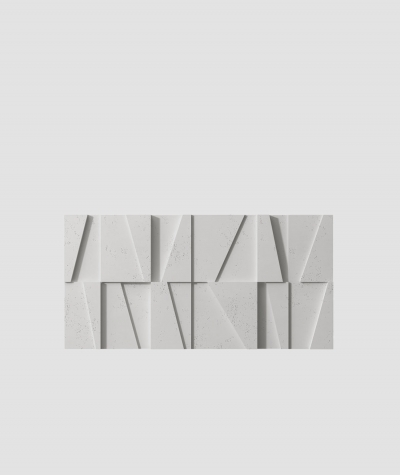 PB09 (S51 dark gray 'mouse') MOSAIC - 3D architectural concrete decor panel