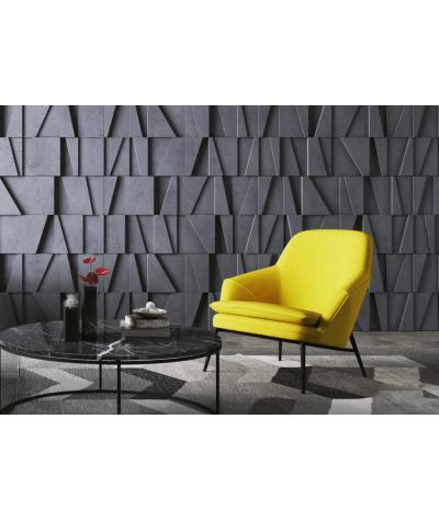 VT - PB09 (S96 szary ciemny) MOZAIKA - panel dekor 3D beton architektoniczny
