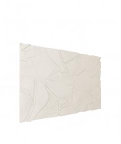 PB34 (B0 white) BOTANICAL - 3D architectural concrete decor panel