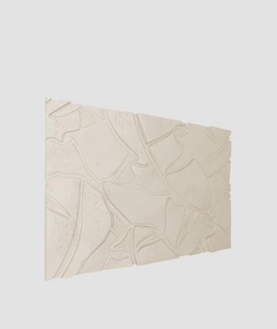 PB34 (KS ivory) BOTANICAL - 3D architectural concrete decor panel