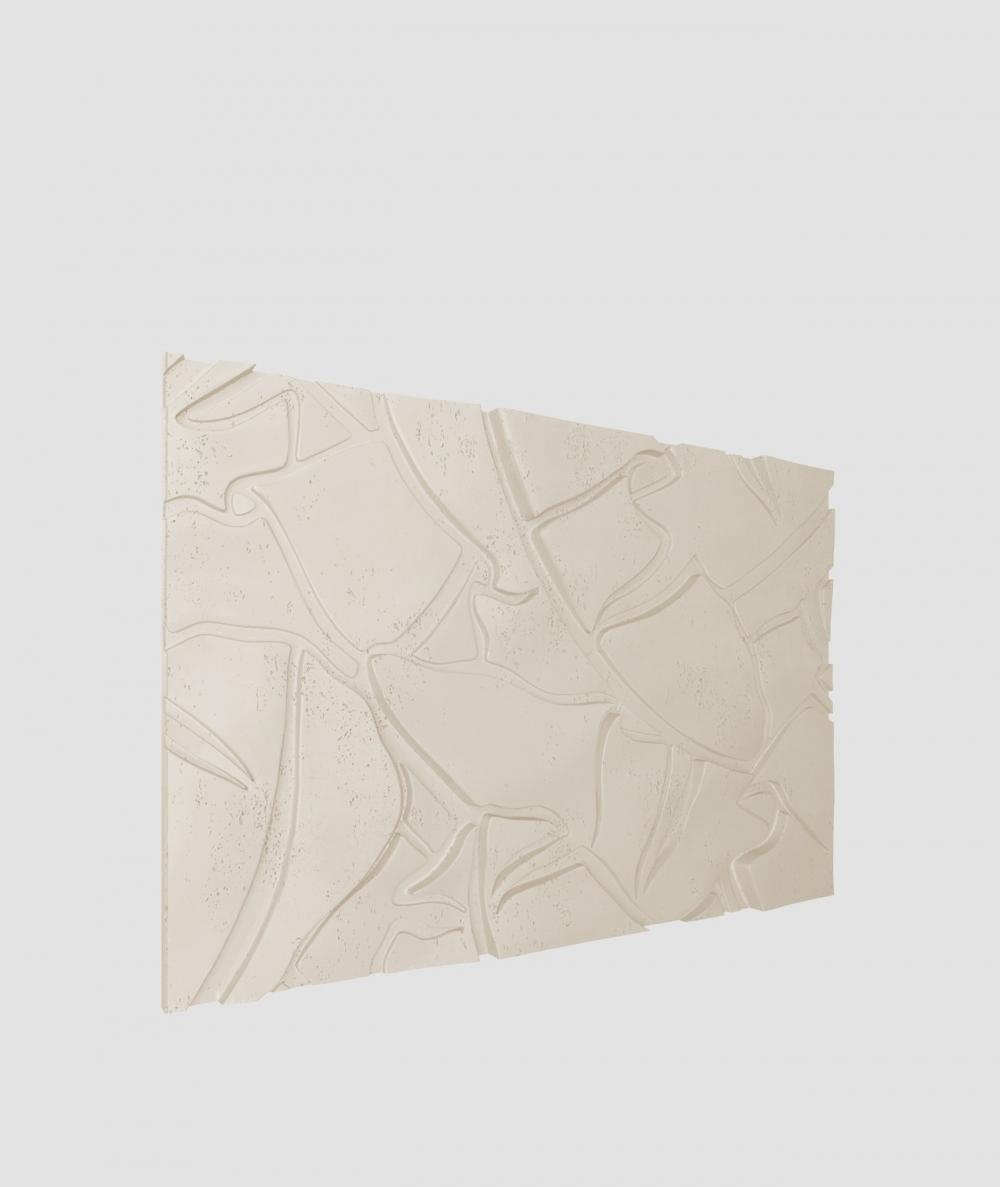 PB34 (KS ivory) BOTANICAL - 3D architectural concrete decor panel