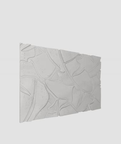 VT - PB34 (S51 ciemno szary 'mysi') BOTANICAL - Panel dekor 3D beton architektoniczny