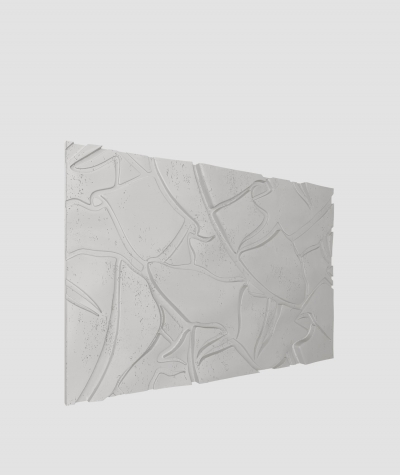 PB34 (S51 dark gray 'mouse') BOTANICAL - 3D architectural concrete decor panel
