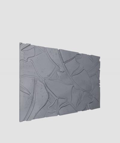 VT - PB34 (B8 anthracite) BOTANICAL - 3D architectural concrete decor panel