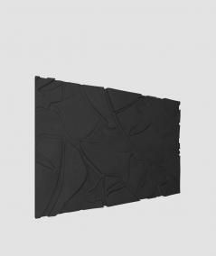 VT - PB34 (B15 black) BOTANICAL - 3D architectural concrete decor panel