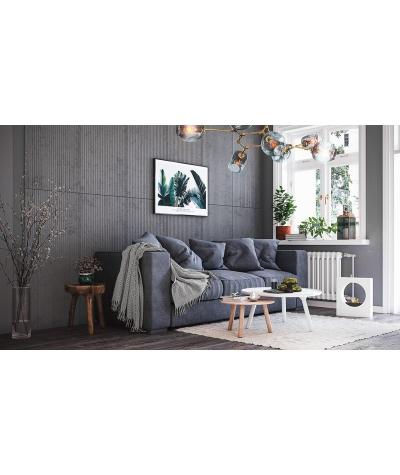 PB37 (B1 gray white) RYFEL - 3D architectural concrete decor panel