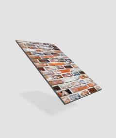 GF - (cegła) - piankowe panele akustyczne