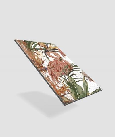GF - (flamingos) - 2 foam acoustic panels