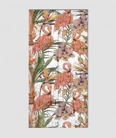 GF - (flamingi) - 4 piankowe panele akustyczne