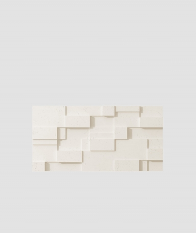 PB11 (B0 white) CUB - 3D architectural concrete decor panel