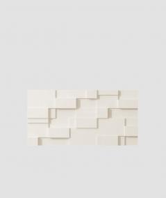 PB11 (B0 white) CUB - 3D architectural concrete decor panel